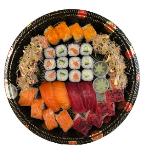 Foto Sushi box for two ( 36 st./pcs.)