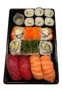Foto Sushi box for one (16 st./pcs.)
