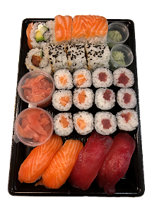 Foto Salmon & Tuna sushi box (24 st./pcs.)